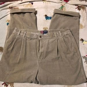 Ralph Lauren Pants - Men's Chaps by RL KHAKI Corduroy pants